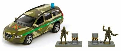 Легковой автомобиль Пламенный мотор Volvo Пограничные войска (870079) 1:32