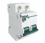 Автоматический выключатель DEKraft ВА-101 2P (B) 4,5kA