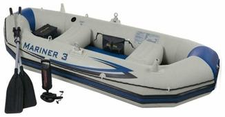 Надувная лодка Intex Mariner-3 Set (68378)