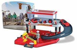 Bburago Игровой набор Ferrari Автомобильный сервис, парковка 2 уровня, 1 машинка 18-31231