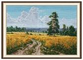 Овен Цветной Вышивка крестом Август 38 х 27 см (1158)