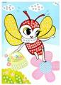 Color Kit Мозаика - стикеры Пчелка (B031)