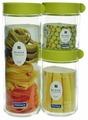 Glasslock Набор контейнеров для сыпучих продуктов IG-588 3 шт.