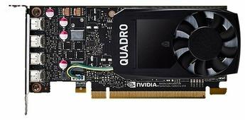 Видеокарта PNY Quadro P1000 PCI-E 3.0 4096Mb 128 bit HDCP