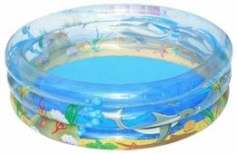 Детский бассейн Bestway Transparent Sea Life 51045