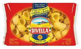 Divella Макароны Lumaconi 49, 500 г