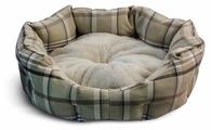 Лежак для собак Triol Овальный Клетка M 57х52х18 см