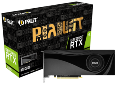 Видеокарта Palit GeForce RTX 2080 1515MHz PCI-E 3.0 8192MB 14000MHz 256 bit 3xDisplayPort HDMI HDCP