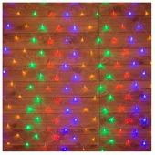 Гирлянда новогодняя светодиодная NEON-NIGHT Сеть 1х1,5 м 96 диодов мультиколор (215-119-6)