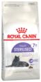 Корм для стерилизованных пожилых кошек Royal Canin 7+ для профилактики МКБ