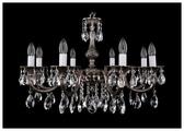 Bohemia Ivele Crystal 1702/8/A/NB, E14, 320 Вт