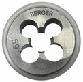 Плашка BERGER BG1005 метрическая м8х1.0мм