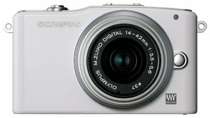 Фотоаппарат Olympus Pen E-PM1 Kit