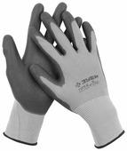 """Перчатки ЗУБР """"мастер"""" для точных работ с полиуретановым покрытием, размер L [11275-L]"""