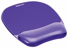 Коврик Fellowes BLUE CRYSTAL MOUSEPAD/WRISTREST FS-91141/FS-91441