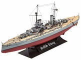 Сборная модель Revell WWI Battleship SMS König (05157) 1:700
