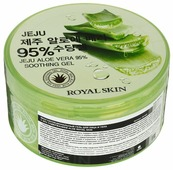 Гель для тела Royal Skin JEJU Aloe Vera 95% Soothing Gel