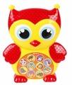 Интерактивная развивающая игрушка Азбукварик Зверята-малышата. Совушка