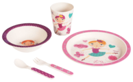 Комплект посуды Bambooware Танцующая девочка