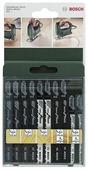 Набор пилок для лобзика BOSCH Jigsaw Blade Set 2609256744 10 шт.