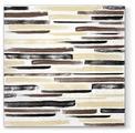 Набор салфеток для декупажа Paw Акварельные полосы (коричневые) SDL120207 33х33 см