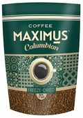 Кофе растворимый Maximus Columbian сублимированный