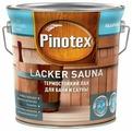 Лак Pinotex Lacker Sauna (2.7 л) водорастворимый