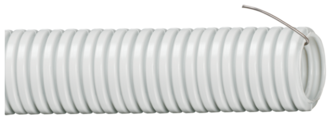 Труба гофрированная ПВХ с зондом IEK 25 мм x 25 м