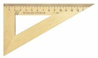 Красная Звезда Угольник деревянный 60° 16 см (С139)