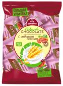 Конфеты В.А.Ш. Шоколатье Cobarde El Chocolate мультизлаковые с изюмом