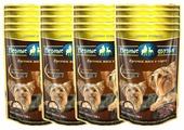 Корм для собак Верные друзья Кусочки в соусе для собак малых пород - Мясное ассорти