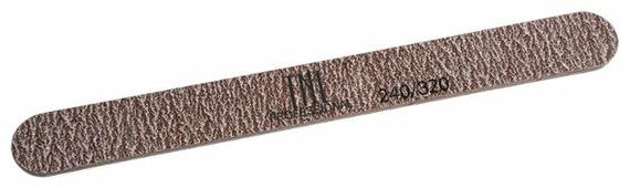 TNL Professional Пилка узкая высокое качество пластиковая основа, 240/320 грит (в индивидуальной упаковке)