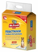 Пеленки для собак впитывающие Mr. Fresh Expert Super F507 60х40 см