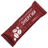 Злаковый батончик БиоИнновации Для энергии в шоколадной глазури Кофе с шоколадом, 25 г