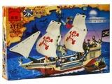 Конструктор Qman Pirates 311 Большой пиратский корабль