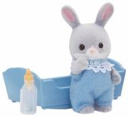 Игровой набор Sylvanian Families Малыш Серый Кролик 3405/5064