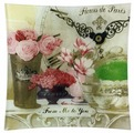 Gift'n'Home Тарелка Парижские цветы 20х20 см