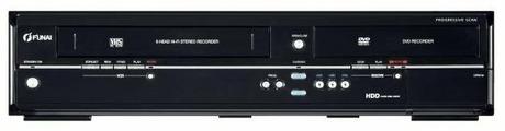 DVD/VHS-плеер Funai TD6D-D4413DB
