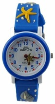 Наручные часы Радуга 102-1 синие ракушки