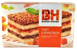 Торт BAKER HOUSE Кармельон
