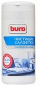 Buro BU-Tmix влажные салфетки+сухие салфетки 130 шт. для оргтехники
