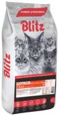 Корм для кошек Blitz Adult Cats Poultry dry
