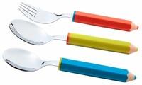 Attribute Набор детских столовых приборов Pencils 3 предмета