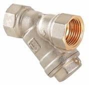 Фильтр механической очистки VALTEC VT.192 муфтовый (ВР/ВР), латунь