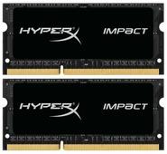Оперативная память 4 ГБ 2 шт. HyperX HX316LS9IBK2/8