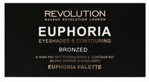 REVOLUTION Палетка для макияжа Euphoria Palette Bronzed