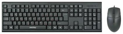 Клавиатура и мышь SmartBuy SBC-227367-K Black USB