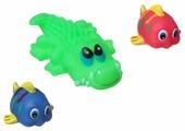 Набор для ванной BONDIBON Крокодил, рыбки (ВВ1391)