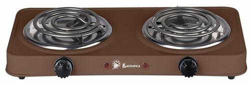 Электрическая плита DELTA ВА-902 коричневая