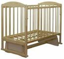 Кроватка СКВ-Компани 12400х Берёзка New (качалка), на полозьях